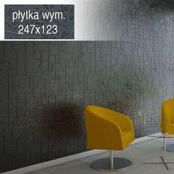 Płytki Grafitowe Kafelki COMPONER Mozaika Szklana 247x123mm