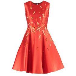 Karen Millen Sukienka koktajlowa orange