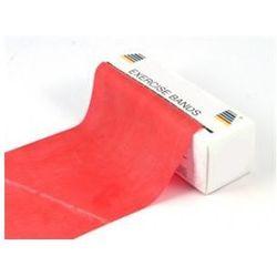 Taśma do ćwiczeń 2,5m x 14cm - 6kg - czerwona