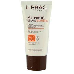 Lierac Sunific Extreme krem do opalania przeciw przebarwieniom SPF 50+ + do każdego zamówienia upominek.