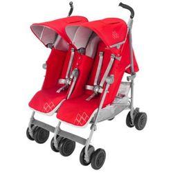 MACLAREN Wózek podwójny Twin Techno Cardinal
