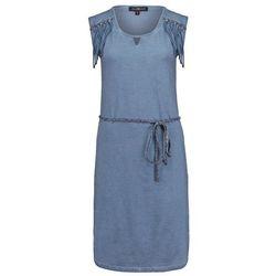 Anna Scott MATEU Sukienka z dżerseju vintage blue