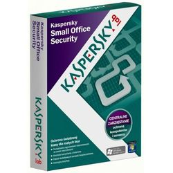 PROGRAM KASPERSKY SMALL OFFICE SECURITY 5U+1S 1Y BOX Szybka dostawa!