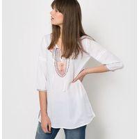 Bluzka haftowane w etniczne wzory