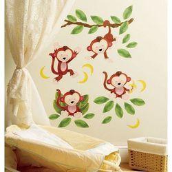 Wallies Naklejki Małe Małpki