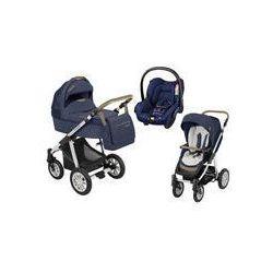 Wózek wielofunkcyjny 3w1 Lupo Dotty Baby Design + Citi GRATIS (Denim granatowy)