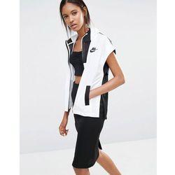 Nike Premium Colour Block Zip Front Jacket - White