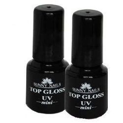 Utwardzacz Lakieru UV Top Gloss Mini 6 Ml