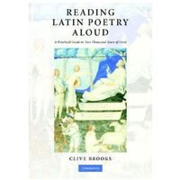 Reading Latin Poetry Aloud Paperback with Audio CDs