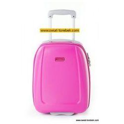 ed4adaf2087e1 PUCCINI walizka mała/ kabinowa wymiar akceptowany przez linię WizzAir z kolekcji  ABS01 twarda 2 koła