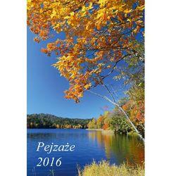 Kalendarz 2016 Planszowy duży. Pejzaże + zakładka do książki GRATIS
