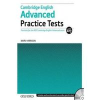 Cambridge English Advanced Practice Tests with key/CD gratis (opr. miękka)