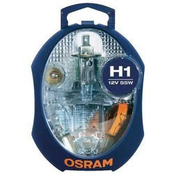 Zestaw żarówek Osram H1, 55 W, 12 V, P14.5s, CLKM H1 EURO