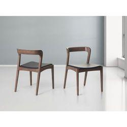 Krzeslo brazowe - do jadalni - do kuchni - drewniane - ASTORIA