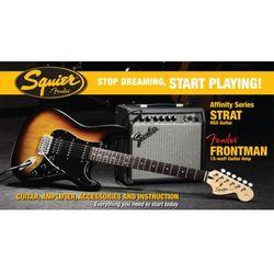Fender Squier Affinity HSS SB z Fender Frontman 15G - ZESTAW