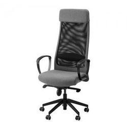 MARKUS Krzesło obrotowe, Vissle szary