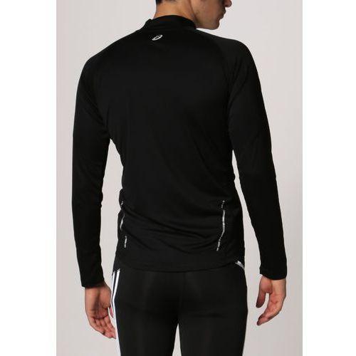 asics LS 12 Zip Koszulka do biegania Mężczyźni czarny