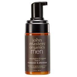 John Masters Organics - Krem nawilżający i po goleniu 2 w 1 dla mężczyzn - Eucalyptus & Agave Aftershave & Daily Moisturizer - 89 ml - DOSTAWA GRATIS! Kupując ten produkt otrzymujesz darmową dostawę !