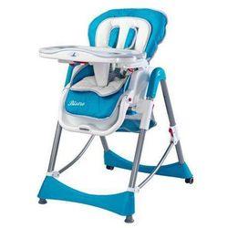 Krzesełko do karmienia Bistro niebieskie