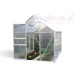 Szklarnia ogrodowa 4,75m2 aluminiowa poliwęglanowa - na działkę