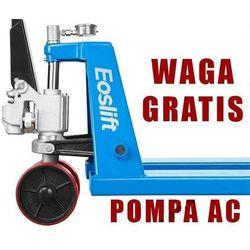 WÓZEK PALETOWY PALECIAK WIDŁOWY MAKTEK Eoslift AC25 2,5T 1150mm POMPA AC GERMANY Z WAGĄ !!!