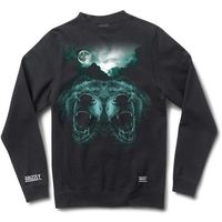 bluza GRIZZLY - Roar At The Moon Blk (BLK)