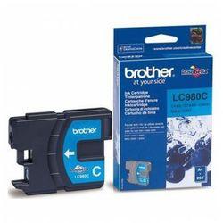 Tusz BROTHER LC 980C (błękitny)