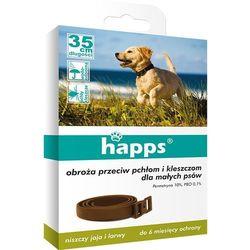 BROS HAPPS 35cm obroża dla małych psów na pchły i kleszcze