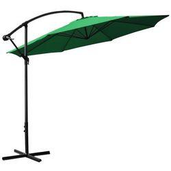 Malatec Parasol ogrodowy 3m 8-żebrowy - zielony