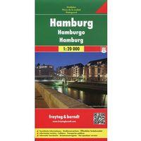 Hamburg mapa 1:20 000 Freytag & Berndt (opr. twarda)