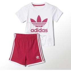 Komplet adidas ORIGINALS Tee Short Set Kids S14337