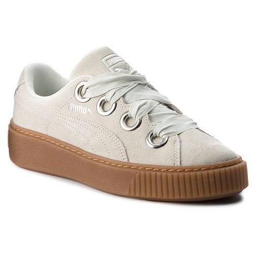 Sneakersy PUMA Platform Kiss Suede Wn's 366461 02 Blue FlowerPuma Silver