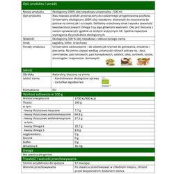 Olej Rzepakowy Uniwersalny 500ml EKO - BIO - Olandia