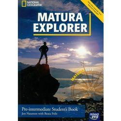 Matura Explorer Pre-intermediate Student's Book z płytą CD (opr. miękka)