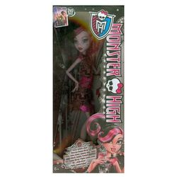 Monster High Czarny dywan Draculaura