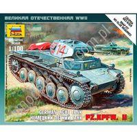 Niemiecki lekki czołg Pz.Kp.fw II Zvezda 6102