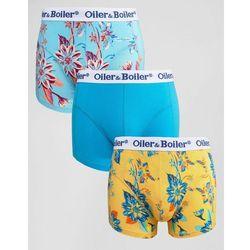 Oiler & Boiler Trunks 3 Pack Dahlia - Multi