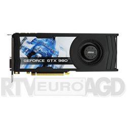 MSI GeForce GTX 980 4GB DDR5 256bit - produkt w magazynie - szybka wysyłka!