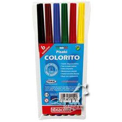 Flamastry pisaki mazaki FIBRACOLOR 6 kolorów
