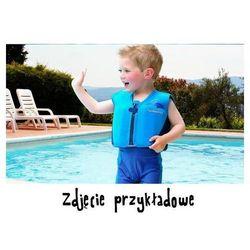 KONFIDENCE Kamizelka z pływakami niebieski pasek 18m+