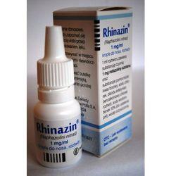 Rhinazin krop.do nosa,roztwór 1 mg/ml 10 ml