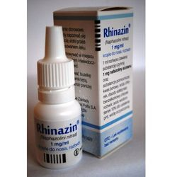 Rhinazin krop.do nosa,roztwór 1 mg/ml 10 ml