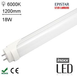 LED T8 120CM 6000K ZIMNY Świetlówka LED zimna 1200mm o mocy 18W 1720 lumenów 6000K