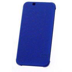 ORYGINALNE ETUI Dot View HTC HC M130 Lite Niebieskie do HTC Desire 510 - Niebieski