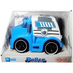 Zabawka SWEDE Q1709 Ciężarówka policyjna