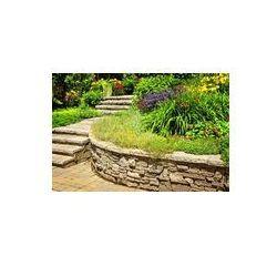 Foto naklejka samoprzylepna 100 x 100 cm - Krajobrazu naturalnego kamienia