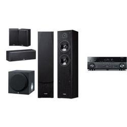 YAMAHA RX-A550 + NS-F51 / NS-P51 + SW012 - Kino domowe - Autoryzowany sprzedawca
