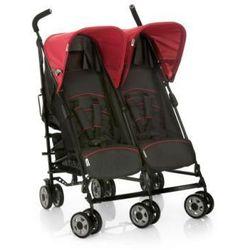 HAUCK Wózek podwójny TURBO DUO caviar/tango