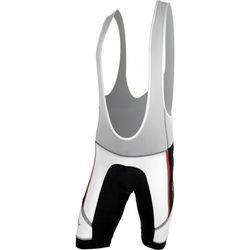 Męskie spodnie rowerowe lacl Silvini Salia MP458 white