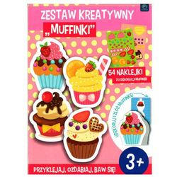 Zestaw kreatywny Muffinki